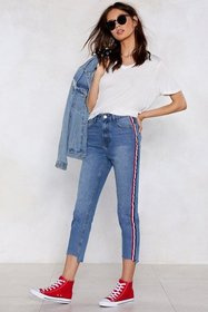 Nasty Gal Womens Vintage blue You're Absolutely St