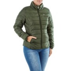 Juniors Basic Puffer Jacket With Logo