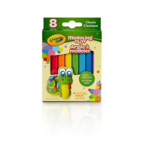 Crayola 8pc Classic Modeling Clay, Assorted Colors