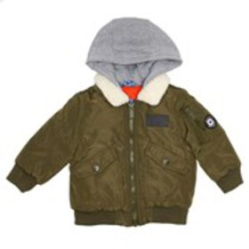BEN SHERMAN Baby Boys Bomber with Fleece Hood (12-
