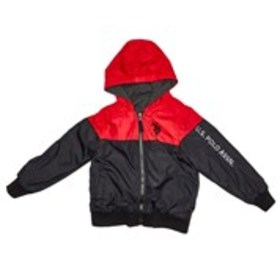 Boys Reversible Color Block Jacket with Hood (4-7)