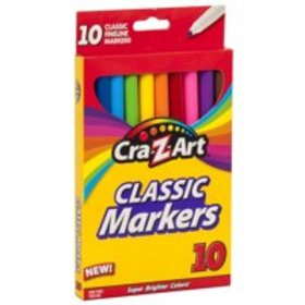 Cra-Z-Art Classic Fineline School Markers - 10 Cou