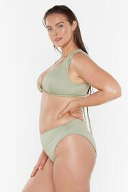 Nasty Gal Womens Sage It's Up to You High-Waisted