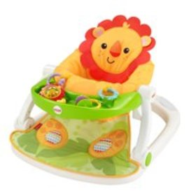 Fisher-Price Sit-Me-Up Lion Floor Seat with Remova