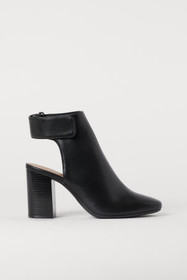 Open-heeled Boots