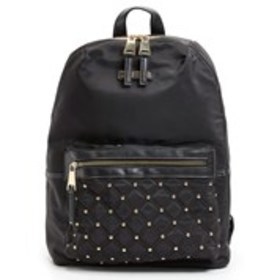 Studded Nylon Dome Backpack