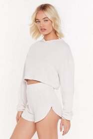 Nasty Gal Womens Oatmeal Running From all Responsi