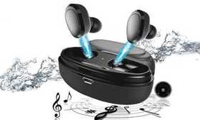 Wireless Earbuds Bluetooth 5.0 headphones with Cha