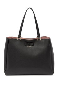 kate spade new york nell leather tote bag