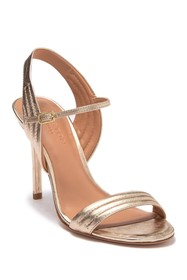 Halston Heritage Tricia in Lille Metallic Leather