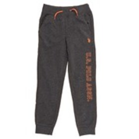 Boys Embroidered Logo Knit Joggers (8-18)
