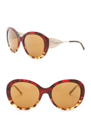 Burberry 57mm Trench Knot Oversized Sunglasses