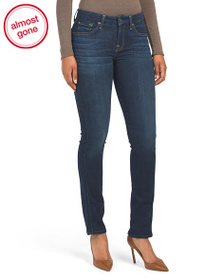 7 FOR ALL MANKIND Kimmie Skinny Straight Jeans