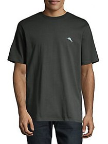 Tommy Bahama Classic-Fit Mow Cowbell Tee COAL