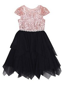 Rare Editions Little Girl's Sequin and Tulle Fairy