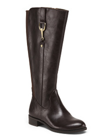 LIFESTRIDE Wide Calf Knee High Boots