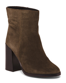 CHRISTIAN DI RICCIO Made In Italy Suede Booties