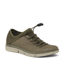 MERRELL Lightweight Comfort Leather Fashion Sneake