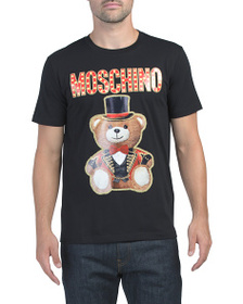MOSCHINO Made In Italy Teddy Circus Tee