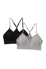 Lucky Brand Seamless Bralette - Pack of 2