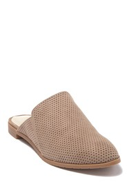 Kenneth Cole Reaction Ruthie Perforated Suede Mule