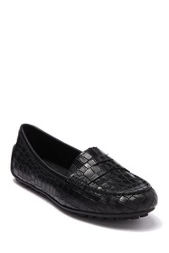 Born Malena Croc Embossed Penny Loafer