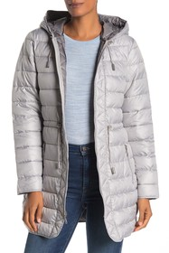 Kenneth Cole New York Hooded Packable Coat