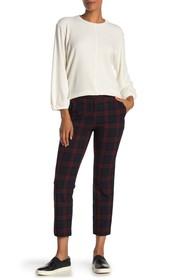 Velvet by Graham & Spencer Brenley Plaid Pants