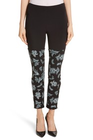 Cinq a Sept Sept Marin Embroidered Leggings