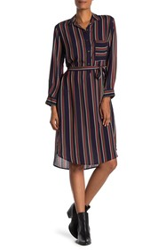 Velvet by Graham & Spencer Pero Striped Midi Shirt