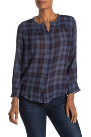 Velvet by Graham & Spencer Quinn Soft Plaid Ruffle