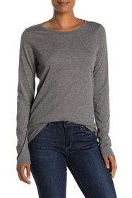Velvet by Graham & Spencer Tippie Slub Long Sleeve
