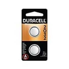 Duracell 2032 3V Lithium Battery, 2 Pack (DL2032B2