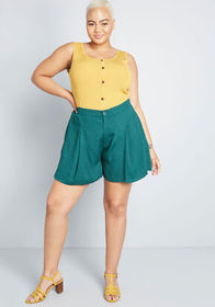 Destined to Wander Shorts Green