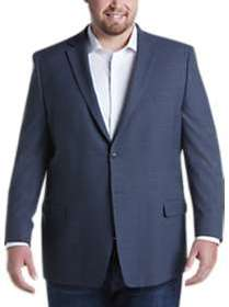 Joseph & Feiss Blue Check Executive Fit Sport Coat