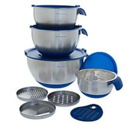 Wolfgang Puck 12-piece Stainless Steel Mixing Bowl