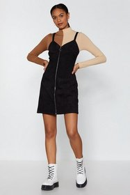 Nasty Gal Womens Black Zip the Nail On the Head Co