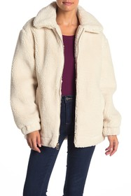 GUESS Teddy Faux Shearling Jacket
