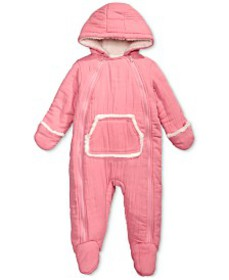 Baby Boys & Girls Hooded Footed Bunting Snowsuit w