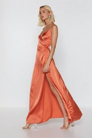 Nasty Gal Womens Burnt orange When the Moon's Out