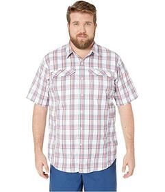Columbia Big and Tall Silver Ridge Lite Plaid Shor