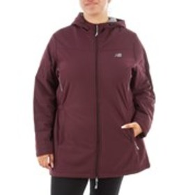 NEW BALANCE Plus Size Hooded Cinched Waist Shearli