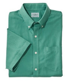 LL Bean Wrinkle-Free Check Shirt, Traditional Fit