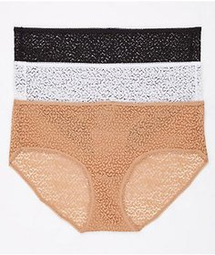 DKNY Modern Lace Hipster 3-Pack