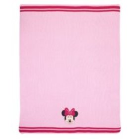 Minnie Mouse Knit Blanket