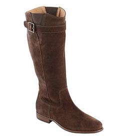 LL Bean Women's Westport Boots, Tall Oil Suede