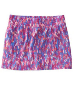 LL Bean Girls' Trail Skort, Print