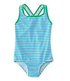 LL Bean Girls' Tide Surfer Swimsuit, One-Piece Pri