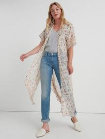 Lucky Brand Lost In The Field Duster Kimono
