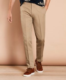 Brooks Brothers Linen-Blend Twill Trousers